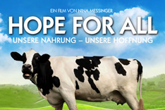 Filmplakat Hope for all - Kuh auf Weide
