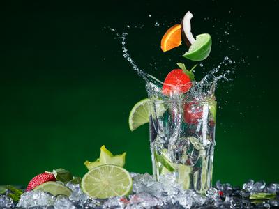 Hochsaison für Erfrischungsgetränke - Händler